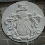 Decorative shield, created by Peppercorn Stone