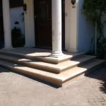 Stone steps in Portland stone